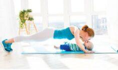 Kondiční cvičení pro maminky s dětmi